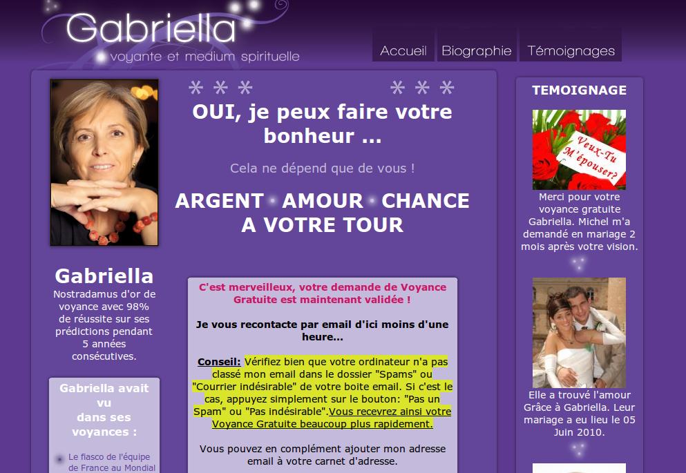 Gabriella arnaque a la voyance 2, le retour  Chtiland  e50973a18bf1